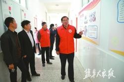 红色引领 文明同行 文明观察员与步凤镇共创文明城