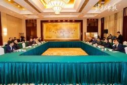 辽宁省阜新市党政代表团来盐考察 戴源裴伟东出席两市座谈会