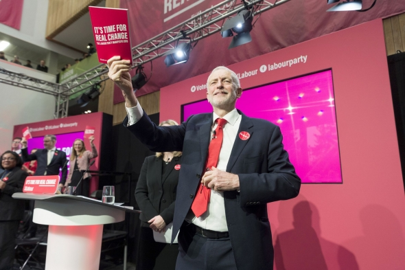 英國工黨發布競選宣言