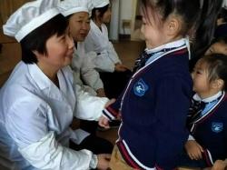 """盐都区潘黄中心幼儿园""""阳光食堂""""让孩子吃得香"""