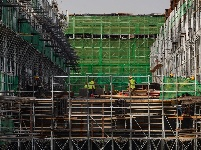 雄安站地下主体结构完工