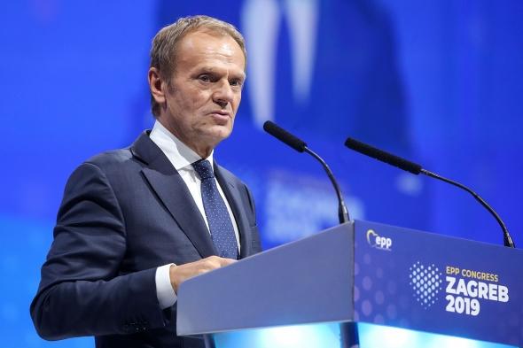 图斯克当选欧洲人民党主席
