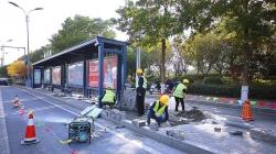 市区千余座公交站台改造升级 无障碍通道改造、盲道衔接、站名牌增加