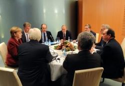 """""""?#24503;?#24213;模式""""峰会重启 乌克兰问题迎解冻契机"""