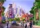 """上海迪士尼乐园""""疯狂动物城""""园区启动施工"""