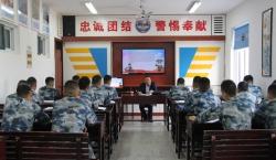 射阳县司法局开展送法进军营活动