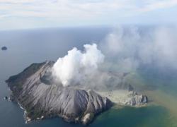 新西兰火山喷发两中国公民烧伤较重 一人清醒一人仍昏迷