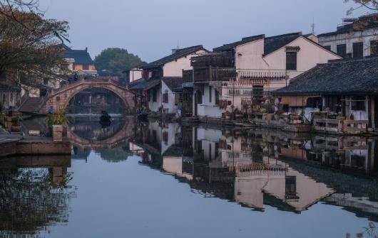 浙江安昌古镇:水乡风情延千年