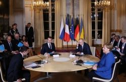 """""""諾曼底模式""""四國峰會在巴黎舉行"""