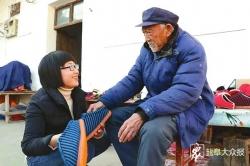 """張雨露不離不棄照顧患血液病丈夫—— """"中國好人""""周仁甫愛心捐助五千元"""