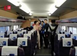 见证 | 一位乘客用视频全程记录徐盐高铁开通