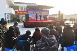 """""""法耀滨海""""第二轮法治文艺巡演村村行"""