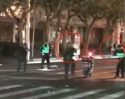 昨夜,上海警察果断开枪!