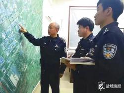 """新城派出所副教导员马启峰—— 扎根社区热心为民的""""小马哥"""""""
