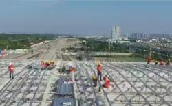 視頻丨鹽城開啟高鐵新時代!向建設者們致敬!