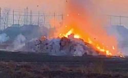 大丰破获一起非法炮竹填埋案为外地厂家报废产品,已全部销毁