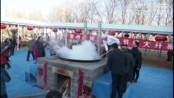河套猪宴节 热热闹闹品美味