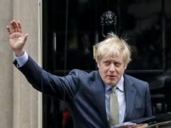 約翰遜正式就任英國首相