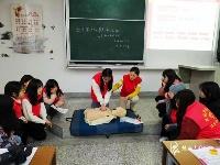 初级救护员培训班进高校