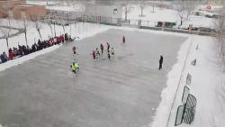 河北大廠:冰雪運動進校園