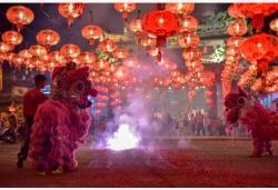 马来西亚华人热烈庆祝中国农历新年