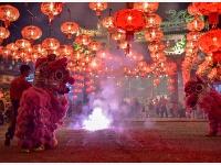 馬來西亞華人熱烈慶祝中國農歷新年