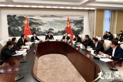 江蘇省委常委會研究部署新型冠狀病毒疫情防控工作:切實把人民群眾生命安全和身體健康放在第一位