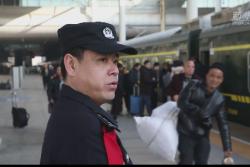"""新春走基層   乘警陳大偉的""""安全錦囊"""""""