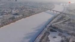 內蒙古河套地區全民除雪保暢通