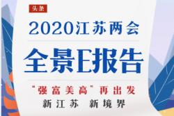 一鍵速覽!2020江蘇兩會全景E報告