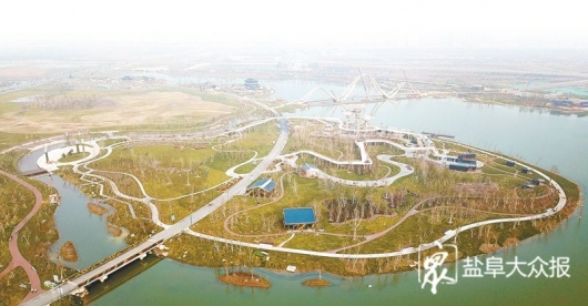 中华海棠园工程进入扫尾阶段