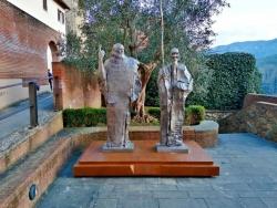 """兩國矚目!雕塑家吳為山讓達·芬奇在故鄉""""相遇""""齊白石……"""