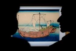 日本浮世繪《富岳三十六景》在湖北首展