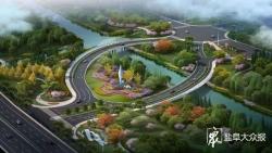 鹽南高新區將出現一對美美的圓形景觀橋! 預計今年7月建成