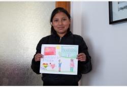 来自远方的祝福——玻利维亚儿童为中国加油