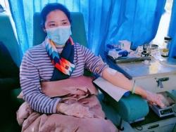 响水市民无偿献血助力武汉抗疫