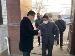 建湖县恒济镇特达公司坚持防疫生产两手抓