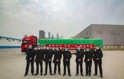 射阳县国投集团捐赠40吨射阳大米抵达黄石市阳新县