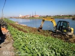 建湖縣上岡鎮實施串場河環境整治提升工程