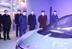 戴源在华人运通新能源汽车项目现场推进会上强调:坚定不移推动四大主导产业发展 以加快重大项目建设对冲疫情影响
