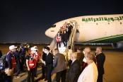 中國醫療專家組及援助防疫物資抵達伊拉克