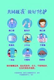 新冠肺炎疫情防控知识海报