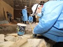 中国专家帮助伊拉克医院改建CT实验室