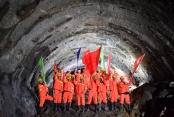 川藏铁路拉林段47座隧道全部贯通