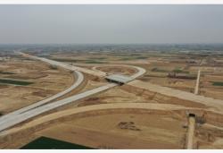 津石高速河北段建設正酣