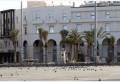 疫情下的利比亚首都的黎波里