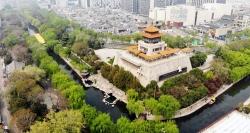 濟南:護城河畔春色濃