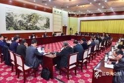 政企同心渡難關 變中尋機謀發展  市政府召開企業家座談會