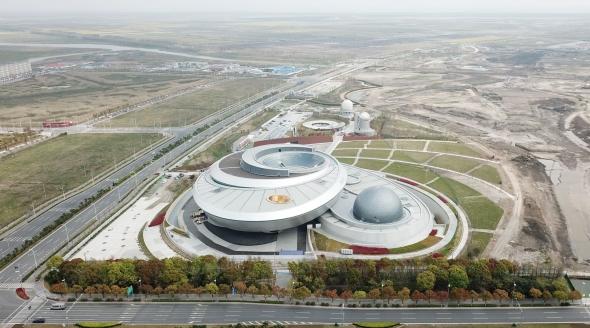 探访上海天文馆建设工地