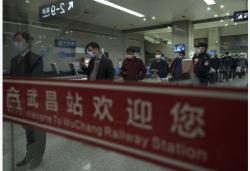 """武漢開出""""解封""""后經停的首趟旅客列車"""